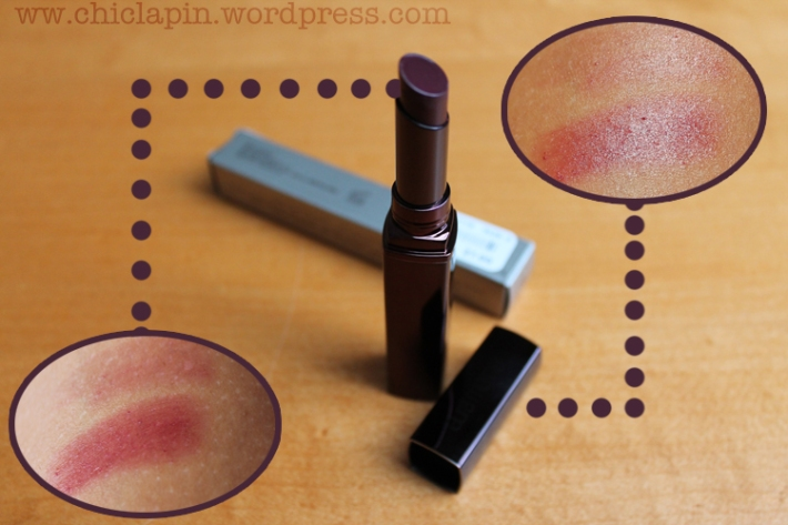 LAURA MERCIER Rouge Nouveau SIN, review pictures swatches. Reseña, fotos, opinion. wwww.chiclapin.wordpress.com