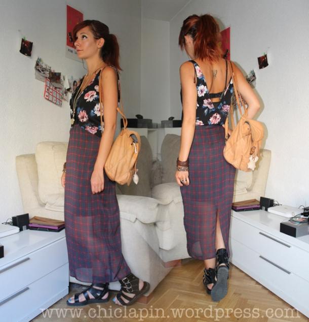 OOTD Zara Dress AW13. Look del dia vestido Zara, Otoño Invierno 2013 www.chiclapin.wordpress.com