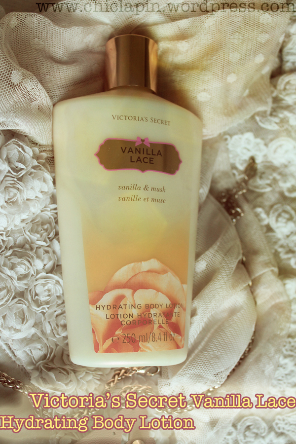 VICTORIAS SECRET Vanilla Lace Hydrating Body Lotion Review, Pictures. Leche Corporal Vainilla y Musk, reseña, fotos, opinión www.chiclapin.wordpress.com