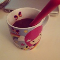 First fall's hot cocoa? ¿Primer chocolate a la taza del otoño?