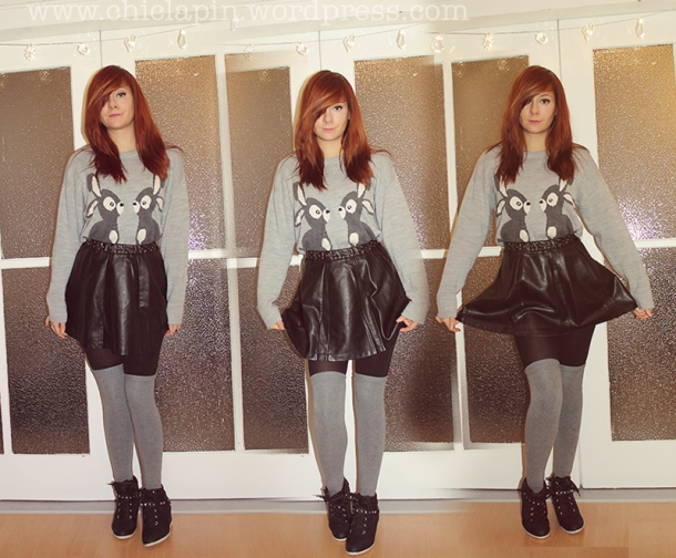 Outfit Of The Day, Look del dia. Oysho, Pull&Bear, HM, Juicy Couture, Asos, Pimkie www.chiclapin.wordpress.com